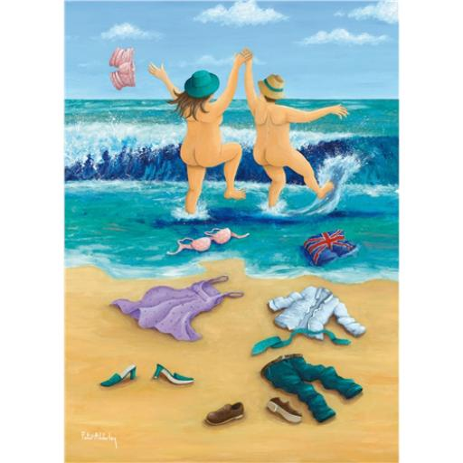 Peter Adderley Card - Skinny Dippers