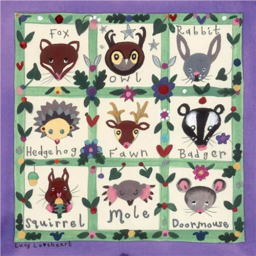Woodland Wonderland Card - Woodland Menagerie