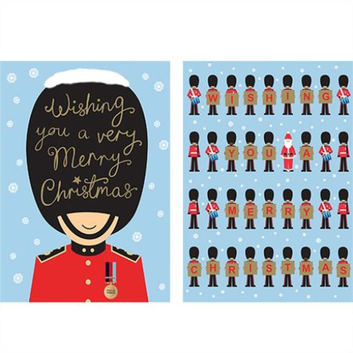 Help For Heroes Christmas Card Pack (Medium) - Festive Soldiers