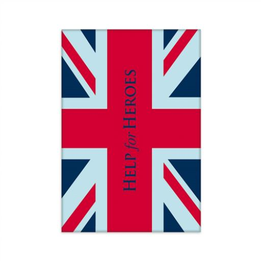 Help For Heroes Magnet - Union Jack