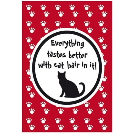 Fridge Magnet - Cat Hair