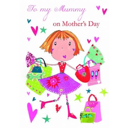 Mother's Day Card - Shop Til You Drop