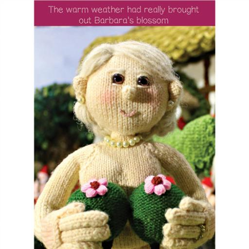 Nudinits Card - Barbara's Blossom