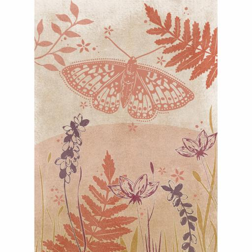 RSPB Card - Wild Garden - Fritillary Flutter