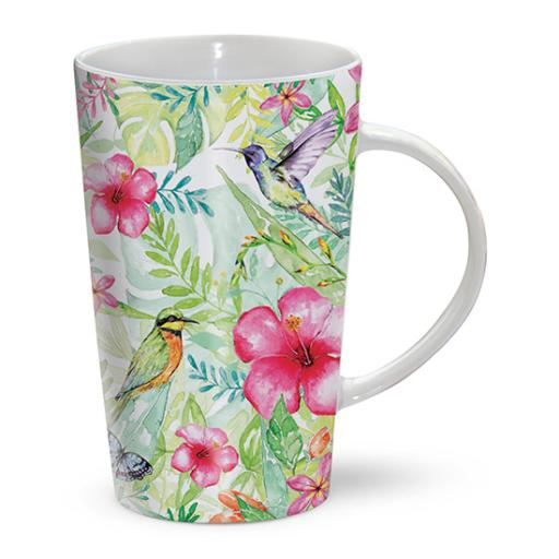 Latte Mug - Butterfly Paradise