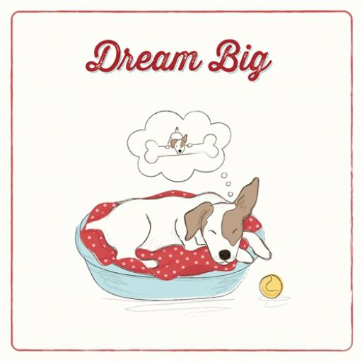 Tommy Doggy Card - Dream Big