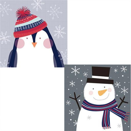 Help For Heroes Christmas Card Pack (Luxury) - Cute Christmas