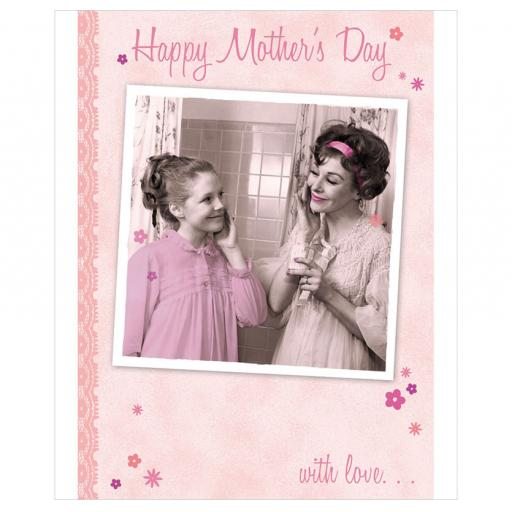 Mother's Day Card - Girl Time