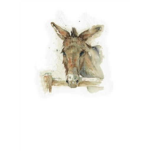 Farm & Country Card - Donkey