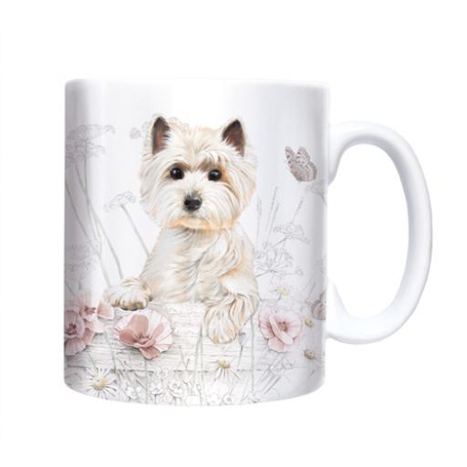 Straight Sided Mug - West Highland White Terrier