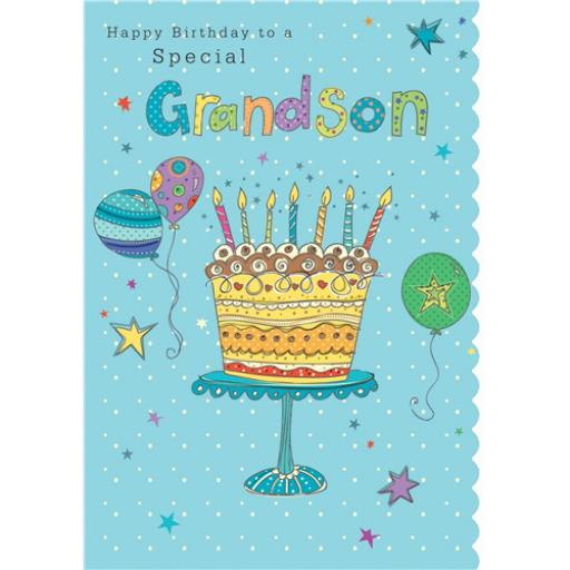 Family Circle Card - Special Grandson