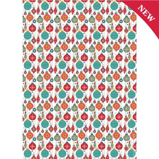 Christmas Wrap & Tags - Bauble Bonanza
