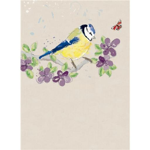 RSPB Card - Blue Tit