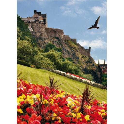 Perfectly Picturesque Card - Edinburgh Castle (Scotland)