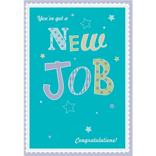 Congratulations Card - New Job