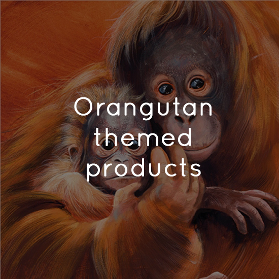 Orangutan themed products