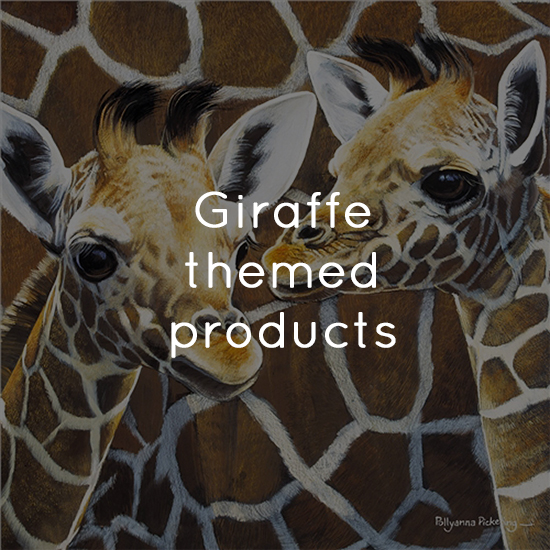 Giraffe themed products