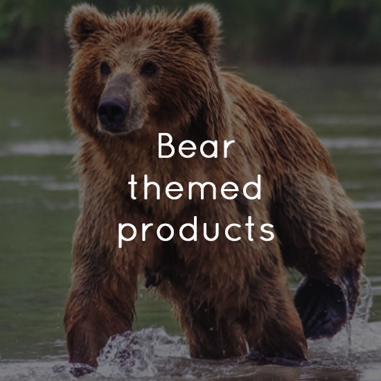 Bear themed products