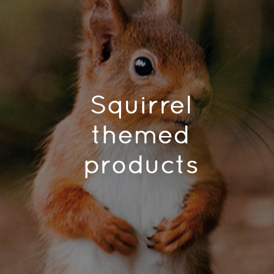 Squirrel themed products