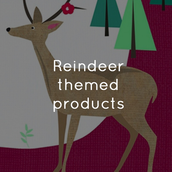Reindeer themed products