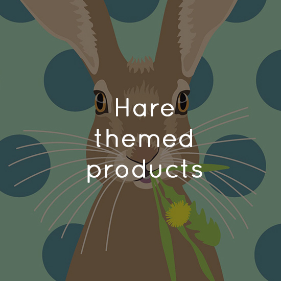 Hare themed products