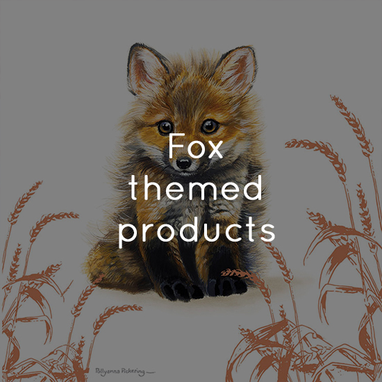 Fox themed products