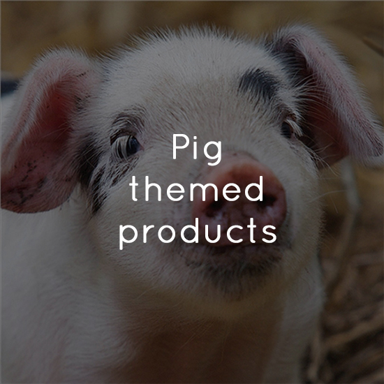 Pig themed products