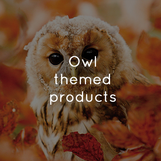 Owl themed products