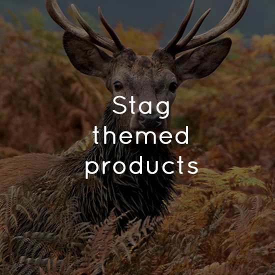 Stag themed products