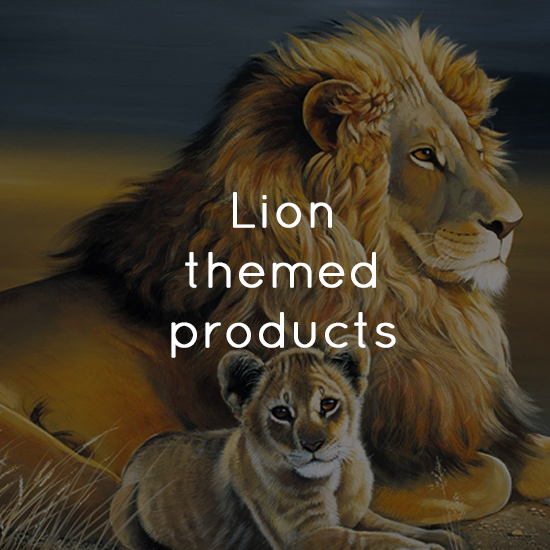 Lion themed products
