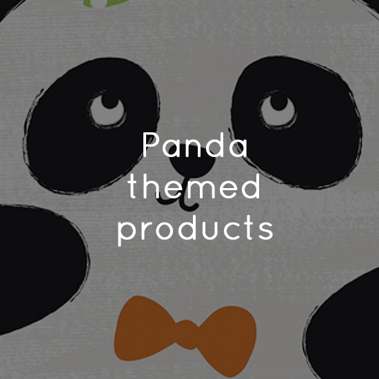 Panda themed products