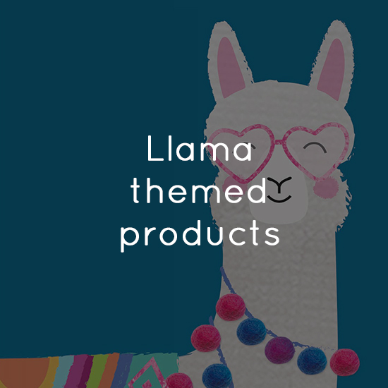 Llama themed products