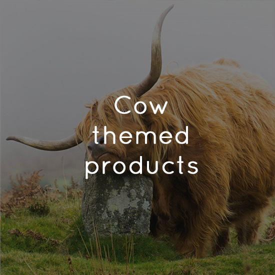 Cow themed products