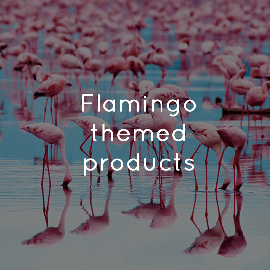 Flamingo themed products