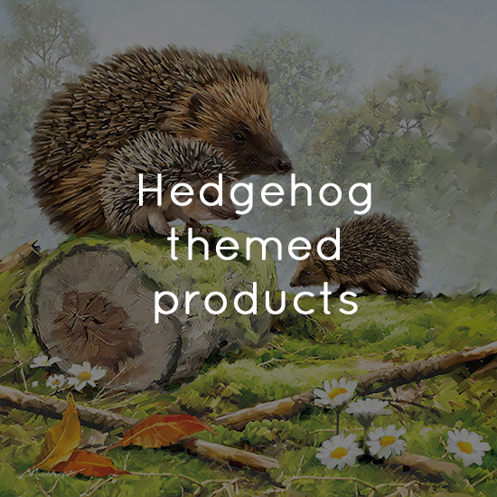 Hedgehog themed products