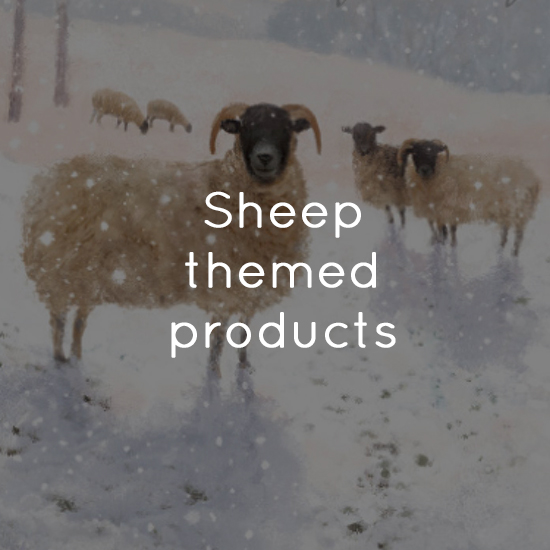 Sheep themed products