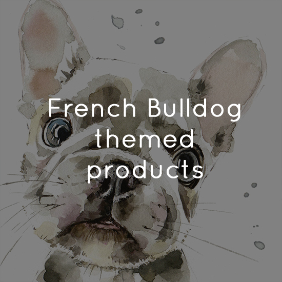 French Bulldog themed products