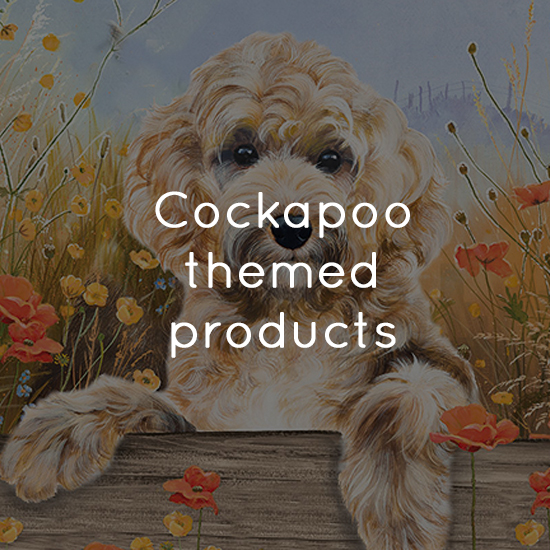 Cockapoo themed products