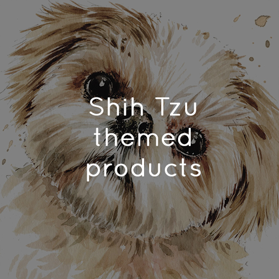 Shih Tzu themed products