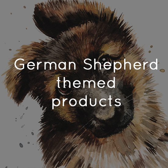 German Shepherd themed products