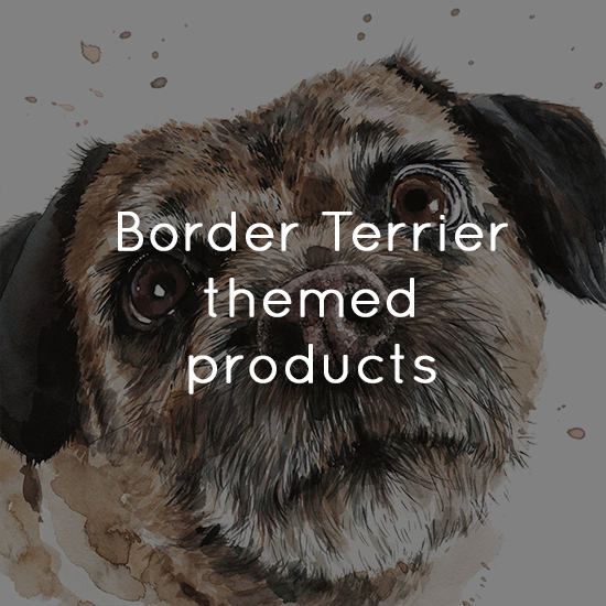 Border Terrier themed products