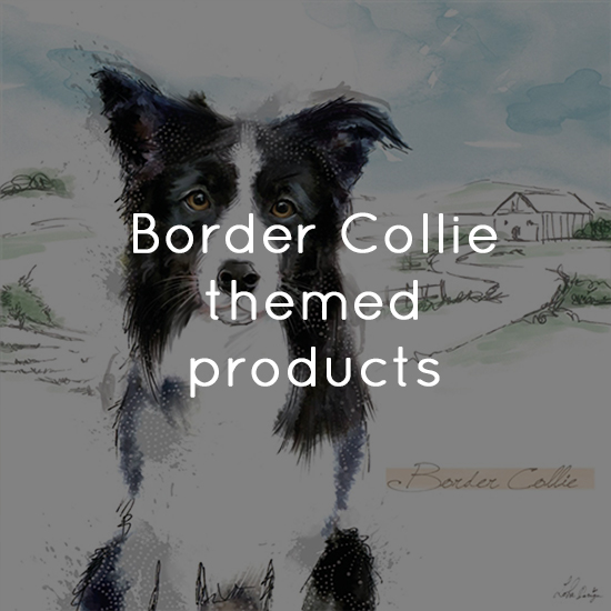 Border Collie themed products