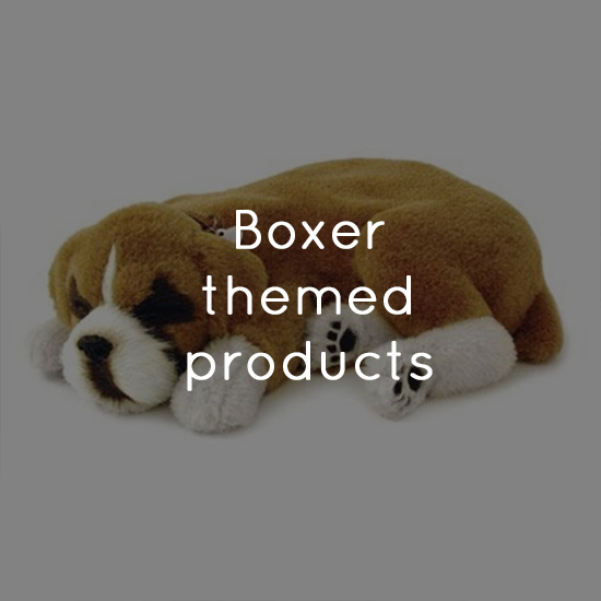 Boxer themed products