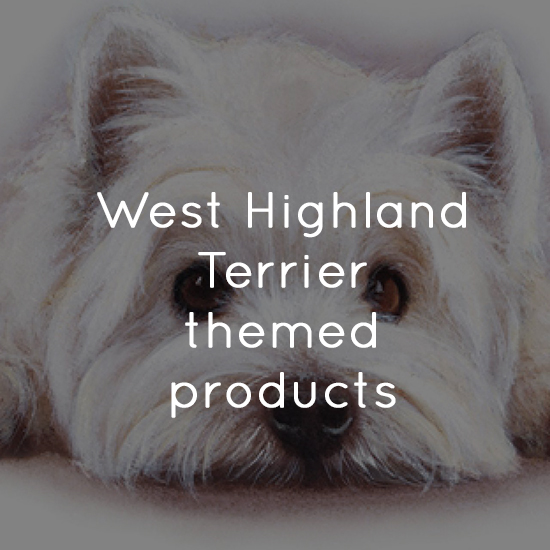 West Highland Terrier themed products