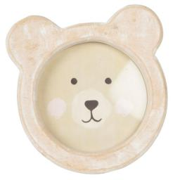 Bear Face Photo Frame