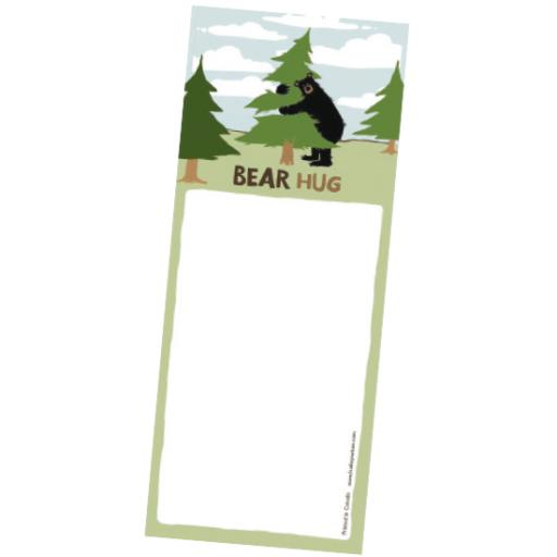 Bear Hug List Pad