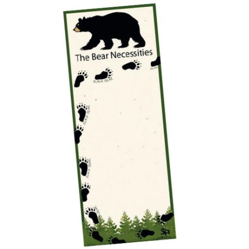 Bear Necessities List Pad