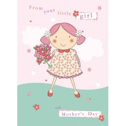 Mother's Day Card - From Your Little Girl