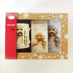 Christmas Gift Box - Cockapoo