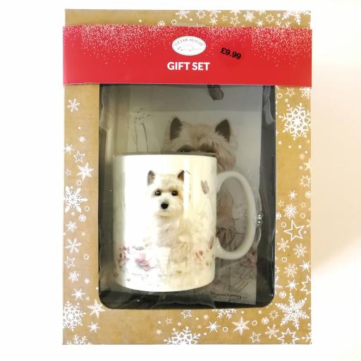 Christmas Gift Box - West Highland White Terrier